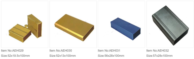 Aluminium Ekstruderede Kasser 3