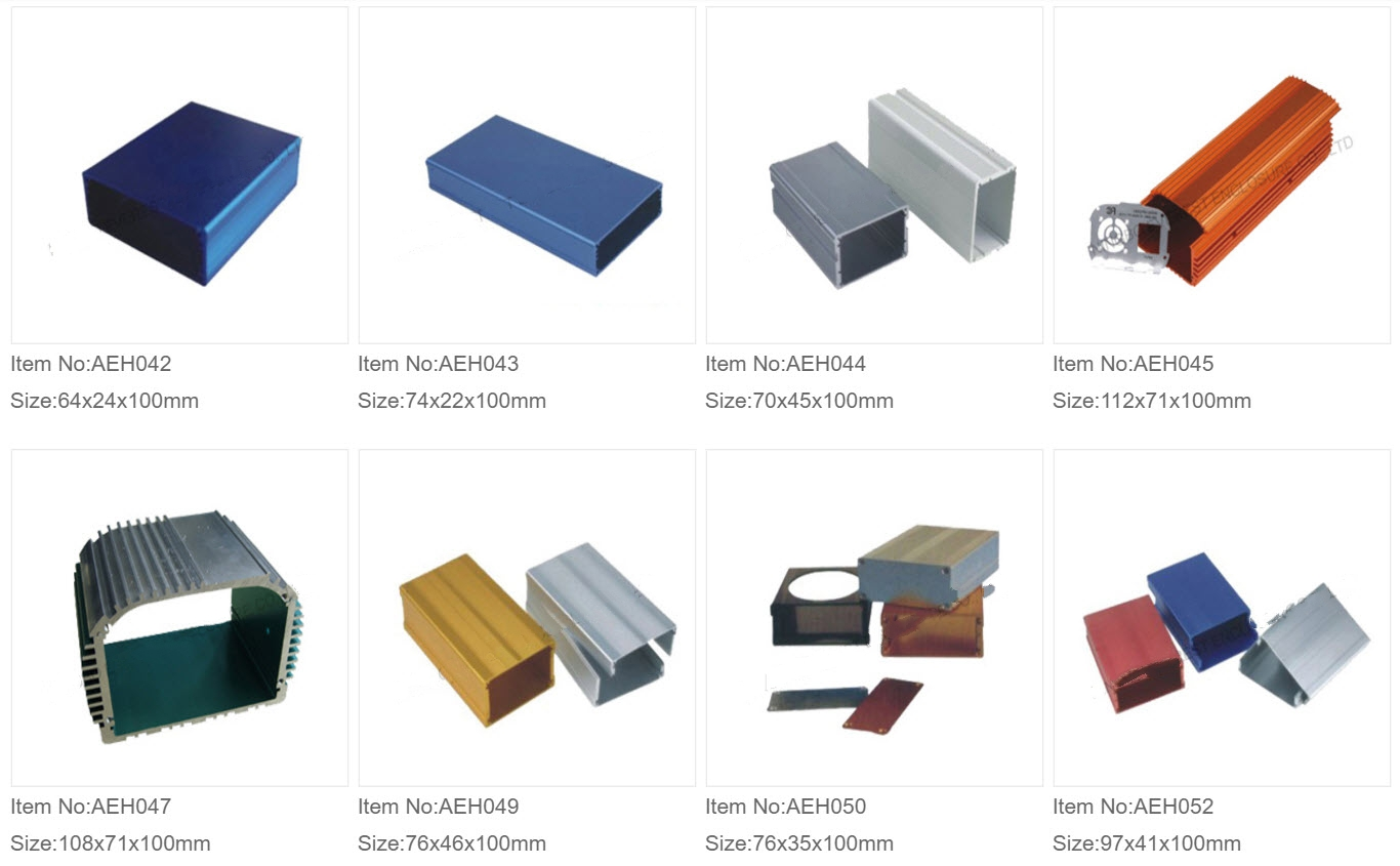 Aluminium Ekstruderede Kasser 5