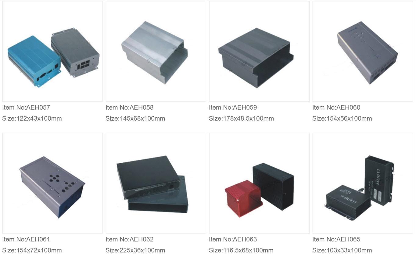 Aluminium Ekstruderede Kasser 7