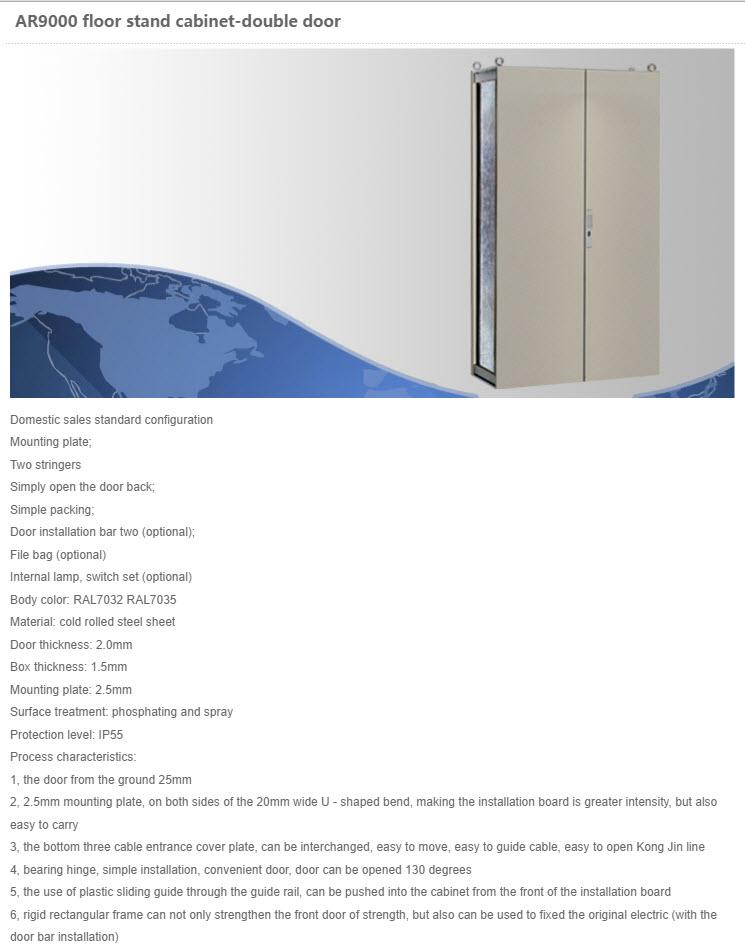 Stål Gulv Placerede Cabinetter 7